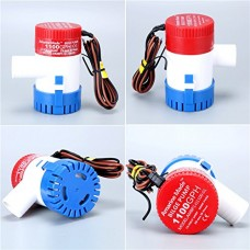 Amarine-made 1100gph 12v Boat Marine Plumbing Electric Bilge Pumps, Sold by One (1100gph 12v)