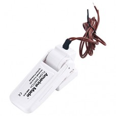 Amarine-made Marine Boat Bilge Pump Float Switch - White