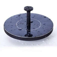 Ankway Solar Bird bath Fountain Pump for Garden and Patio, Free Standing 1.4W Solar Panel Kit Water Pump, Outdoor Watering Submersible Pump (Birdba...