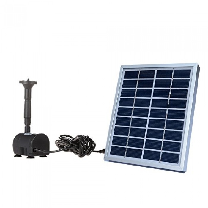Anself 9v 2w Solar Power Water Pump For Landscape Pool
