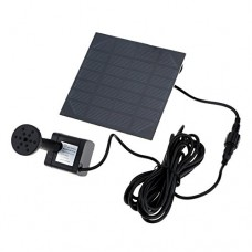 Anself Silicon Solar Fountain Water Brushless Pump Cycle Energy-saving 170L/H