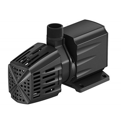 Atlantic Water Gardens Water Feature & Fountain Pump, Removable Pre-filter, 1000 GPH