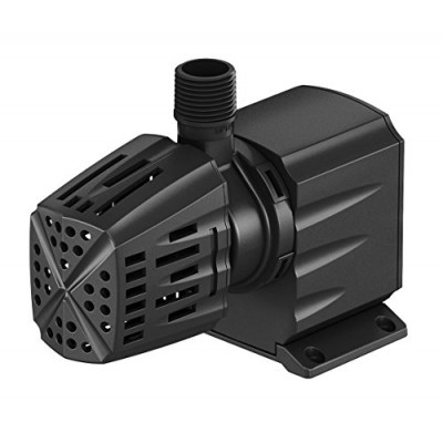 Atlantic Water Gardens Water Feature & Fountain Pump, Removable Pre-filter, 550 GPH