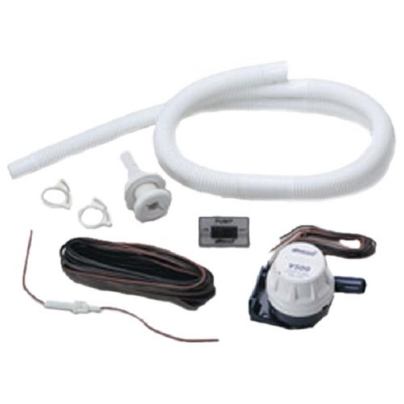 Attwood corporation 4614 7 5 39 hose with clamps bilge pump for Install external pond pump