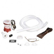 Attwood Corporation 4614-7 5' Hose with Clamps Bilge Pump Installation Kit
