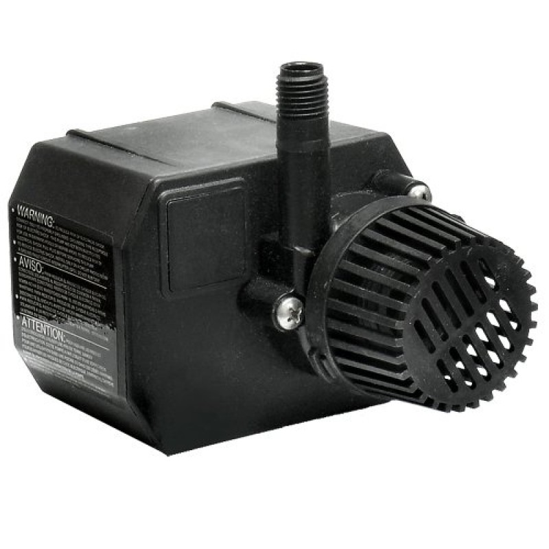 Beckett corporation g210ag 210 gph small pond pump 115 volt for Best small pond pump