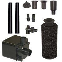 Beckett Corporation Pond Pump Kit with Prefilter and Nozzles, 800 GPH