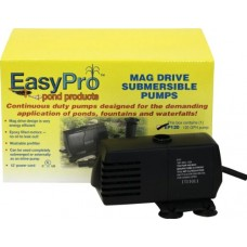 EasyPro Pond Products EP120 Submersible Mag Drive Pond Pump, Max Flow 120 GPH