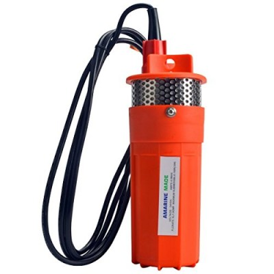 Farm & Ranch 12v / 24v Submersible Deep Dc Solar Well Water Pump, Solar, Battery, Alternate Energy, 230ft+ Lift