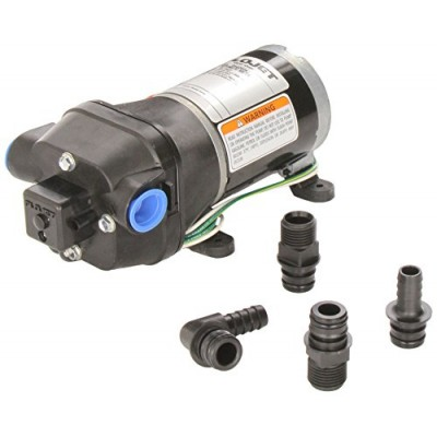 Flojet 04406043A 3.3 GPM 35 PSI 110V Quiet Quad Water Pump System