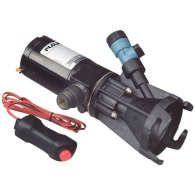 Flojet 18555-000A, Portable RV Waste Pump, 12 Volt DC, Macerator, Includes Carrying Case by Flojet