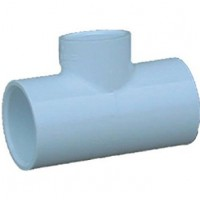 Genova Products 1-1/2X1-1/2X1/2Redu Tee 31478 Pvc Sch 40 Pressure Fittings