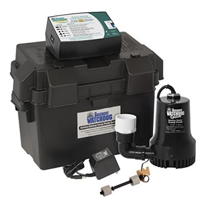 Glentronics BWSP 1730-Gallons Per Hour Basement Watchdog Special Back-Up Sump Pump