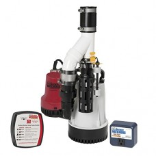 Glentronics DFK-961 1/3 Horsepower Basement Watchdog Submersible Combination Sump Pump System