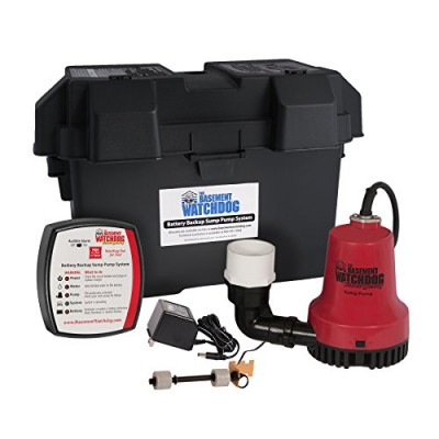 Glentronics, Inc. BWE 1000-Gallons Per Hour Basement Watchdog Emergency Back-Up Sump Pump