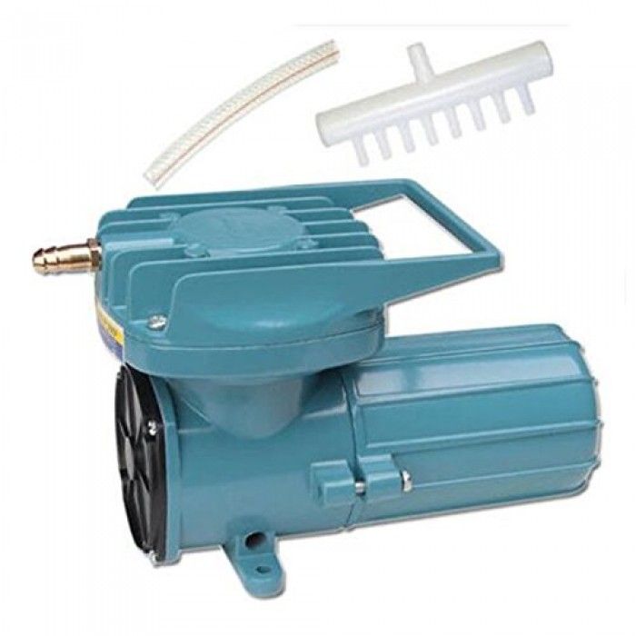 Dc 12v Permanent Magnetic Air Compressor Pump For Fish Pond Hydroponics Aquaculture Oxygen 4800l H