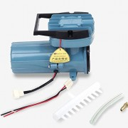 DC 12V Permanent Magnetic Air Compressor Pump for Fish Pond Hydroponics Aquaculture Oxygen 6000L/H