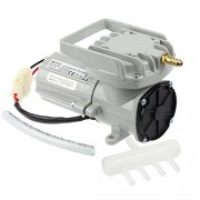 HEALiNK 12V 38Lpm Portable Aquarium Air Compressor Aquaculture Water Fish Hi Pressure Pump