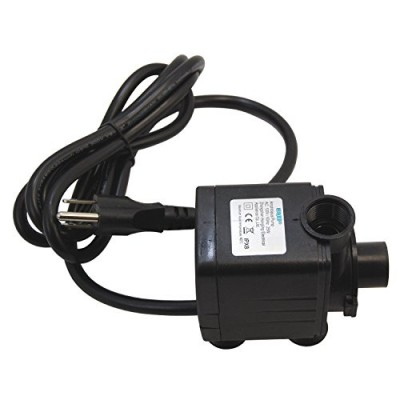 HQRP Submersible Water Pump 1500L/H 400GPH 25W for Pond / Fountains / Statuary / Spout and Hydroponic Systems + HQRP UV Meter