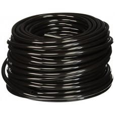 Hydrofarm HGTB25 1/4-Inch Outside Diameter Black Tubing 100-Feet