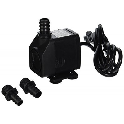 Jebao Ap-399 Submersible, Hydroponics, Aquaponics, Fountain Pump, 264 GPH, 18W
