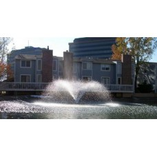 Kasco Aerating Fountain - 1 HP, 120V, 100-Ft. Cord Model# 4400VFX100