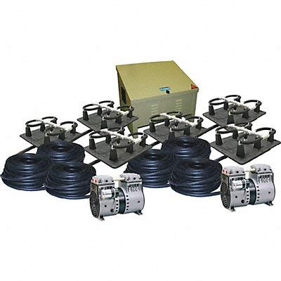 Kasco Marine Robust-Aire Aquatic Aeration System RAH6 - For Ponds to 11.0 Surface Acres, 240 Volts, Includes Base Cabinet Mount