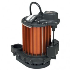 Liberty Pumps 233 Mercury Free Float 1/3 HP Submersible Sump Pump with Series Plug