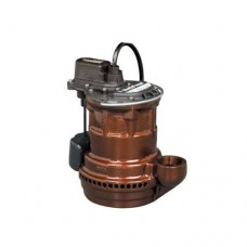 Liberty Pumps 247 VMF 1/4-Horse Power 1-1/2-Inch Discharge 240-Series Cast Iron Automatic Submersible Sump Pump with VMF Switch