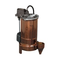 Liberty Pumps 287 1/2-Horse Power 1-1/2-Inch Discharge 280-Series Automatic Submersible Sump Pump with VMF Switch