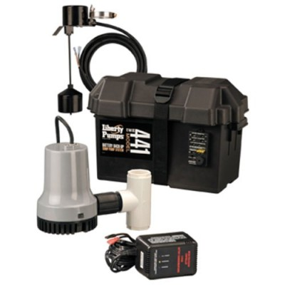 Liberty Pumps 441 Battery Back-Up Emergency Sump Pump System