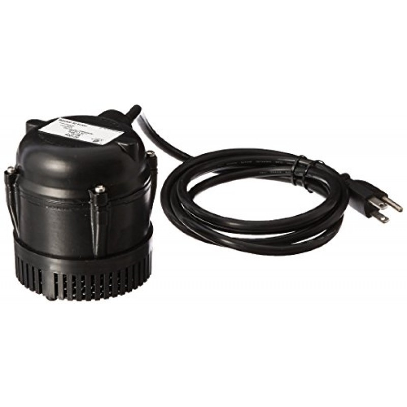 Little giant 501004 205gph direct drive submersible pump for Pond pumps direct