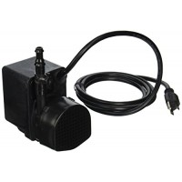 Little Giant PE-2H-PW Direct Drive 300Gph Pump with 6-Feet Cord for Pond