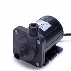 Mavel Star Brushless Water Pump DC 12v 163 GPH 1.1A 13.2W 12v Submersible Water Pump 500L/H 5M/16ft for Gardening Pool Pond Water Circulation Syste...