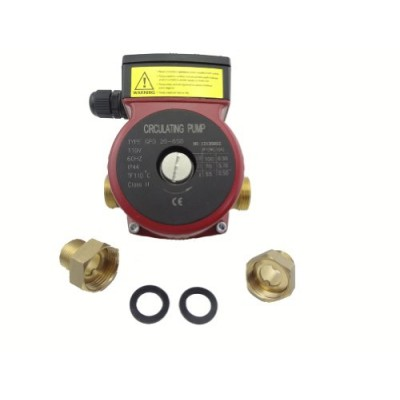 MISOL 220v Brass circulation pump 3 speed,for solar water heater or hot water heating