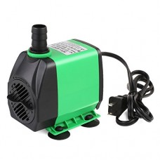PEDY 800GPH (3000L/H) Submersible Water Pump Pond, Aquarium, Fish Tank Fountain Water Quiet Pump Hydroponics, 24W