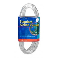 Penn-Plax Standard Airline Tubing Air Pump Accessories, 8-Feet