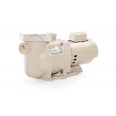 Pentair 340039 Stainless Steel SuperFlo Single-Speed Almod Pool Pump, 1-1/2-Horsepower 115/230-Volt Single-Phase