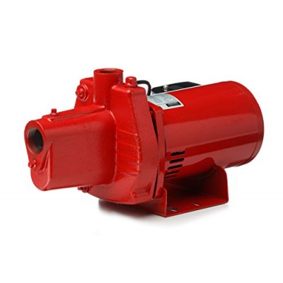 Red Lion RJS-50 1/2-HP 12-GPM Cast Iron Shallow Well Jet Pump
