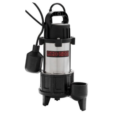 Red Lion RL-SS100T 115V 1 HP Premium Submersible Stainless Steel Sump Pump