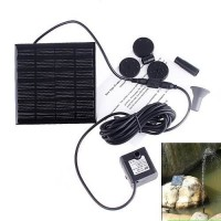 RivenAn Solar Pump for Water Fountain , Solar Powered Panel Kit Pool Garden Watering Submersible Pump, Birdbath Fountain - With Separate Solar Panel