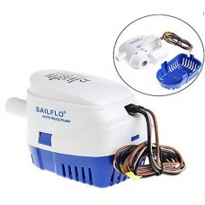 SAILFLO Automatic Bilge Pumps 750 GPH 12V DC All-in-one Marine Submersible Water Pump 4 Year Warranty Boat Auto Yacht RV
