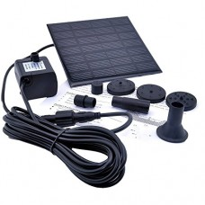 1.2 Watt Solar Power Water Pump Garden Fountain - for fountains, waterfalls and water displays