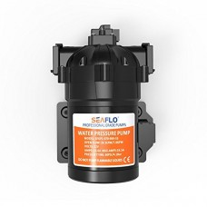 SEAFLO 12V DC 7.0 GPM 60 PSI 53-Series Diaphragm Water Pressure Pump for Marine Boat RV Caravan