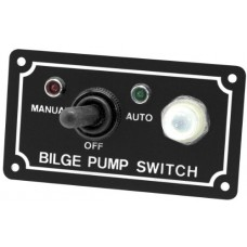 Shoreline Marine SL52268-X Bilge Pump 3 Way Switch (Black)