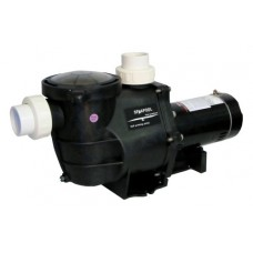 Inground Pool Pump -1 HP 115-230V-Deluxe High Performance Single Sp. w/Fittings