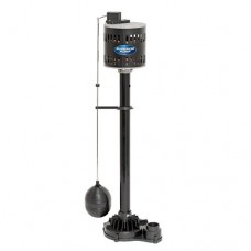 Superior Pump 92333 1/3 HP Thermoplastic Pedestal Sump Pump