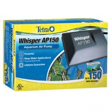 Tetra 26075 Whisper Aquarium Air Pump AP150, upto 150-Gallon