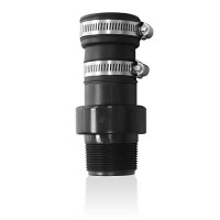 Wayne 1-1/2 in. Check Valve with PVC Clamps