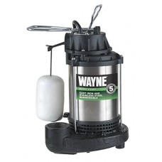 Wayne CDU1000 1 HP Submersible Cast Iron and Stainless Steel Sump Pump with Integrated Vertical Float Switch